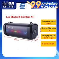 Loa bluetooth không dây Earldom ET-A11 với chất lượng âm thanh chân thực, âm bass sâu, âm treble trong trẻo, dung lượng pin trâu 1200 mAh – Hàng chính hãng
