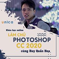 FULL khóa học THIẾT KẾ - ĐỒ HỌA - Làm chủ photoshop cùng Huy Quần Hoa