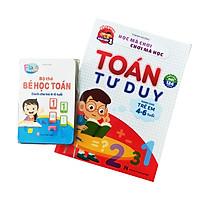 Bộ Sách Và Thẻ Học Toán Tư Duy Dành Cho Trẻ 4-6 Tuổi Phiên Bản Mới Cho Bé Tự Tin Vào Lớp 1