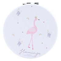 Gương Mini Tròn 2 Mặt - Flamingo - Giao Mẫu Ngẫu Nhiên