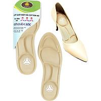 Lót giày đa năng 4D cực êm chân, chống thốn gót chân và thấm hút mồ hôi - buybox - BBPK56