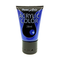 Tuýp Màu Acrylic Pentel WA2-T25 - Ultramarine Blue