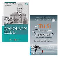 Combo Sách Kỹ Năng Để Thành Công Trong Công Việc và Cuộc Sống: Bài Học Thành Công Đắt Giá Từ Napoleon Hill + Vị Tu Sĩ Bán Chiếc Ferrari