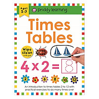 Wipe Clean Workbook Times Table 1-12