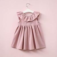 Đầm công chúa xếp ly thích hợp cho bé gái từ 1 đến 4 tuổi thích hợp mặc mùa hè