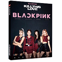 Photobook blackpink kill this love bìa đen