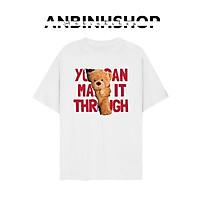 BTS Áo thun unisex in hình Gấu You can make cực dễ thương hot trend chất vải dày mịn mát AnbinhShop