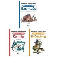 Combo Ô Kìa! Em Có Biết? : Bạch Tuộc + Cá Mập + Khủng Long (Bộ 3 Cuốn)
