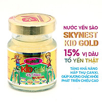 Nước yến sào SkyNest Kid Gold vị dâu lọ 15% Tổ yến dành cho trẻ em