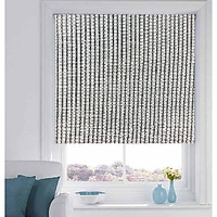 Rèm cuốn cao cấp nguyên bản - ngang|rộng cố định 2.8m - nguyên thanh treo - mã vải MC402