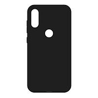 Ốp lưng dành cho Xiaomi Redmi Mi Not 6 Pro silicone TPU dẻo đen chống bám vân tay - Hàng Chính Hãng