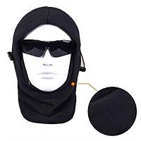 Mũ nỉ giữ ấm giữ nhiệt windproof ski mask xe đạp leo núi xe máy lạnh và chống bụi ấm full mặt mui MS26