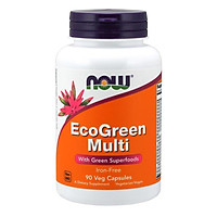 Thực phẩm chức năng EcoGreen Multi hãng Now foods USA Bổ sung vitamin, axit amin và khoáng chất cần thiết cho cơ thể giúp nâng cao sức khỏe