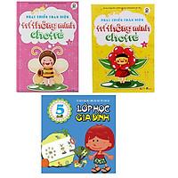 Bộ 3 cuốn Phát triển toàn diện trí thông minh cho trẻ A + B và Lớp học gia đình 5 tuổi