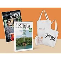Combo 2 cuốn về chuyên đề du lịch Nhật Bản: Sách hướng dẫn du lịch Nhật Bản Japan Guide + Cẩm nang Kilala Vol.45 Nhật Bản 20 tuyệt cảnh ( Tặng kèm bộ túi tote )
