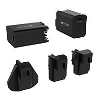 Củ Sạc Mazer EnerG TRAVEL USBX4/USB-C PD45W - hàng chính hãng
