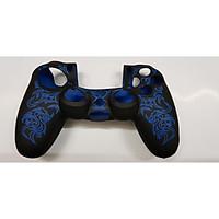 bọc silicon tay cầm ps4 mẫu dragon neon blue