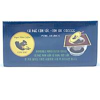 Cà phê Con Sóc Phin Lọc Xanh( Con Sóc Coffee Pure Arabica)