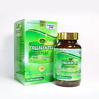 Viên uống Diệp Lục Collagen HDPHARMA làm đẹp da, chống lão hóa, ngừa nếp nhăn - Hộp 60 viên thành phần Vitamin E, Isoflavon, sữa ong chúa, nhai thai cừu