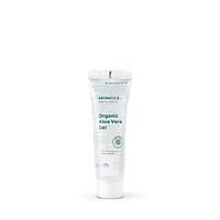 Gel lô hội HỮU CƠ dưỡng ẩm, làm dịu da mặt và toàn thân AROMATICA Organic Aloe Vera Gel 50ml