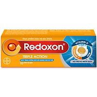 Viên Sủi Bổ Sung Vitamin C,D Và Kẽm Redoxon Triple Action (10 Viên)