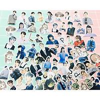 30 ảnh sticker Vương Nhất Bác ( giao mẫu ngẫu nhiên )
