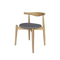 Ghế gỗ tần bì nhập khẩu bọc vải indoor cao cấp Furnist Bull R