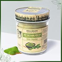 Bột Trà Xanh Nguyên Chất Umi Home (125g) Dùng cho đắp mặt, tắm trắng, dưỡng trắng da loại bỏ mụn hiệu quả