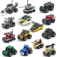 Bộ Sưu Tập Đồ Chơi Lego 14 Mẫu Xe Quân Sự 001