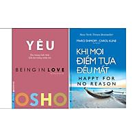 Combo 2 Cuốn Sách: Osho - Yêu + Khi Mọi Điểm Tựa Đều Mất
