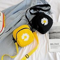 Túi đeo chéo vải Túi đeo chéo mini nữ hình hoa cúc năm 2020