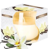Ly nến thơm tinh dầu Bispol Vanilla 100g QT024456 - hương hoa vani