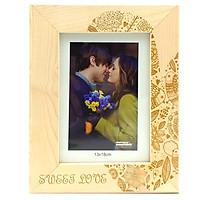 Khung Hình 13x18 Khắc Laser - Mẫu 7 - Sweet Love