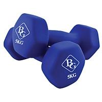 Bộ 2 tạ tay cao cấp tập Gym BG 5kg (hàng nhập khẩu)