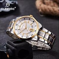 Đồng hồ nam Sunrise DM771SWA [Full Box] - Kính Sapphire, chống xước, chống nước - Dây thép 316l