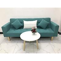 Bộ ghế sofa giường 2mx90 sofa bed tay vịn phòng khách linco05 sopha salon