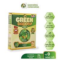Sữa non Green Daddy Pedia, Sữa non tinh chất rau củ dành cho bé biếng ăn, chậm lên cân, Hộp 25 gói x 20g