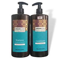 Cặp dầu gội xả phục hồi tóc khô hư tổn Arganicare for Dry & Demaged Hair (Argan & Shea Butter) 750ml