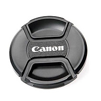 Nắp lens dành cho máy Canon 49 ,52 , 58 , 62 ,67 , 72 , 77 , 82 - Hàng nhập khẩu