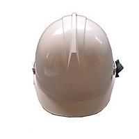 Mũ an toàn Fashion I Slot màu trẳng mặt tròn có gài