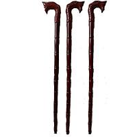 Combo Ba Gậy batoong bằng gỗ - đầu rồng dụng cụ hỗ trợ cho người già