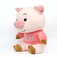 Thú Bông Heo Happy Con Pig Dễ Thương (30CM) - Màu ngẫu nhiên