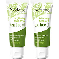 Combo 2 Sữa Tẩy Tế Bào Chết Vedette Tràm Trà (Tea Tree Oil) - Tube 45ml