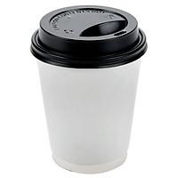 100 LY,CỐC GIẤY CÓ NẮP   6.5oz ( 200 ml )