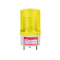 Đèn cảnh báo điện áp DC12/24/48V - AC220V. 4 Màu (Đỏ, Xanh, Xanh Dương, Vàng). Model: LTE-1101 M - NEW