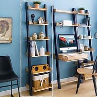 Kệ Trang Trí 6 Tầng NB-Blue Gỗ Tự Nhiên Ibie BR6FNBBR - Xanh (50 x 35 cm)