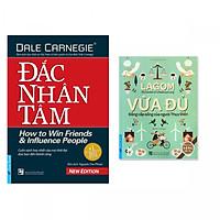 Combo 2 cuốn: Đắc Nhân Tâm,  Lagom - Vừa Đủ - Đẳng Cấp Sống Của Người Thụy Điển