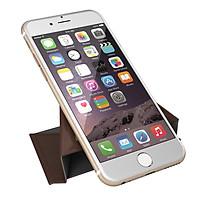 Giá Đỡ Điện Thoại Gấp Chống Trượt Cho iPhone SE 6s 6 Plus Samsung S7 S6 edge iPad mini -Nâu