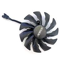 2pcs 95MM T129215BU For GIGAYTE AORUS GeForce GTX 1080 Ti GTX 1080Ti RTX2060 Xtreme GTX1070 GTX1060 4PIN Cooling Fans PLD10015B12H