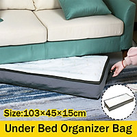Non-Woven Large Capacity Under Bed Storage Bag Containers Clothes Box Organizer